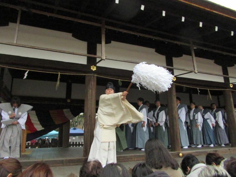 上賀茂神社 節分豆まき_e0048413_18412264.jpg