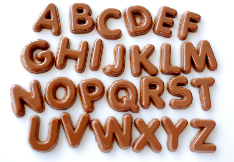 チョコレートの文字_e0175918_15513622.jpg