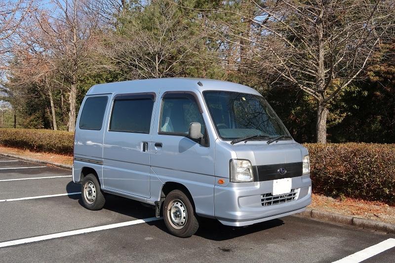 サンバーバン4WDと日本酒_f0076731_14512900.jpg