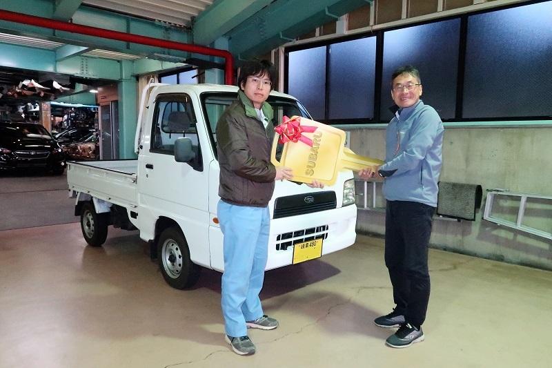 サンバーバン4WDと日本酒_f0076731_14521112.jpg