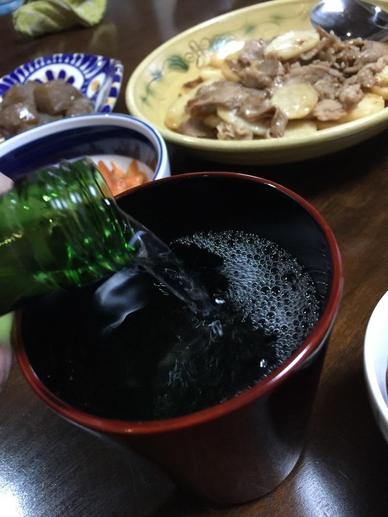 サンバーバン4WDと日本酒_f0076731_15263346.jpg
