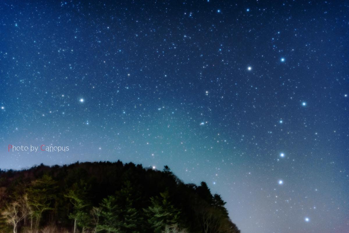 北斗七星と北極星_e0196140_23253407.jpg