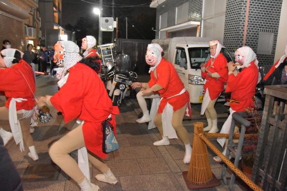 祇園のお化け、ひょっとこ踊り_f0347663_12215816.jpg
