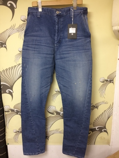 《 VIRGO 》3D DENIM  VINTAGE加工も登場_e0122167_15575950.jpeg