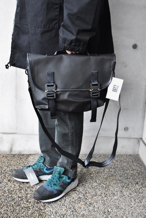 最高の大人BAG★  DEFY BAGS RECON MINI_d0152280_12390517.jpg