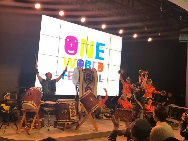 第26回ワンワールドフェスティバルに出演しました。_e0017689_23322905.jpg