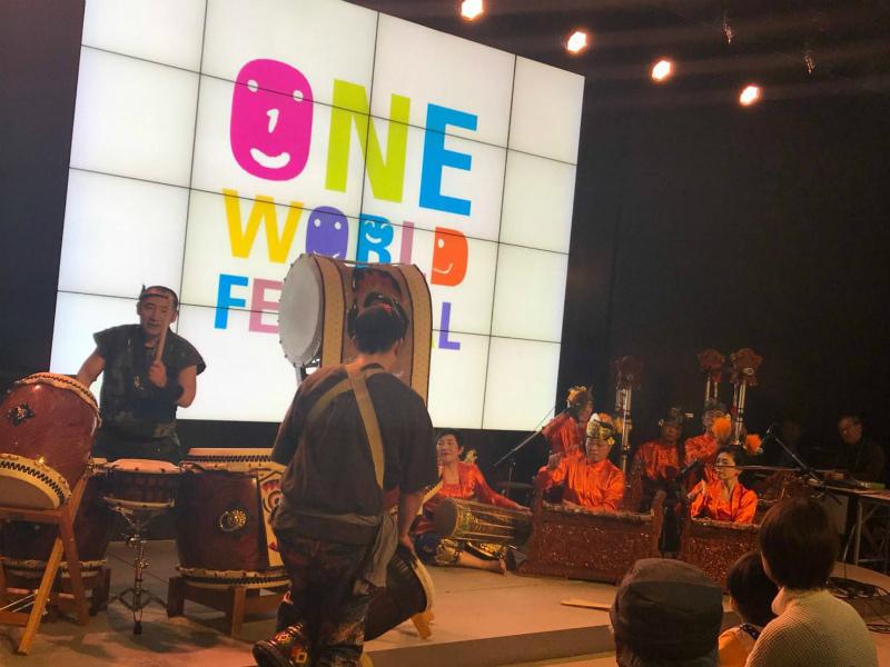 第26回ワンワールドフェスティバルに出演しました。_e0017689_23344835.jpg