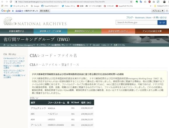 衝撃のファクトチェック:昭和天皇はCIAエージェントだった?(公開されたCIAエージェントリストより)_e0069900_22573516.jpg