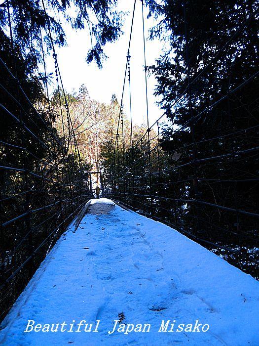 吊り橋の向こうに。☆、・:`☆・・゚・゚☆。。付知峡 不動の滝_c0067206_14205363.jpg