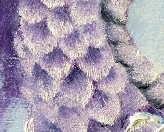 花菖蒲の油絵完成_b0089338_22351140.jpg
