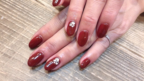 Wine Red Nails_a0239065_13551768.jpg