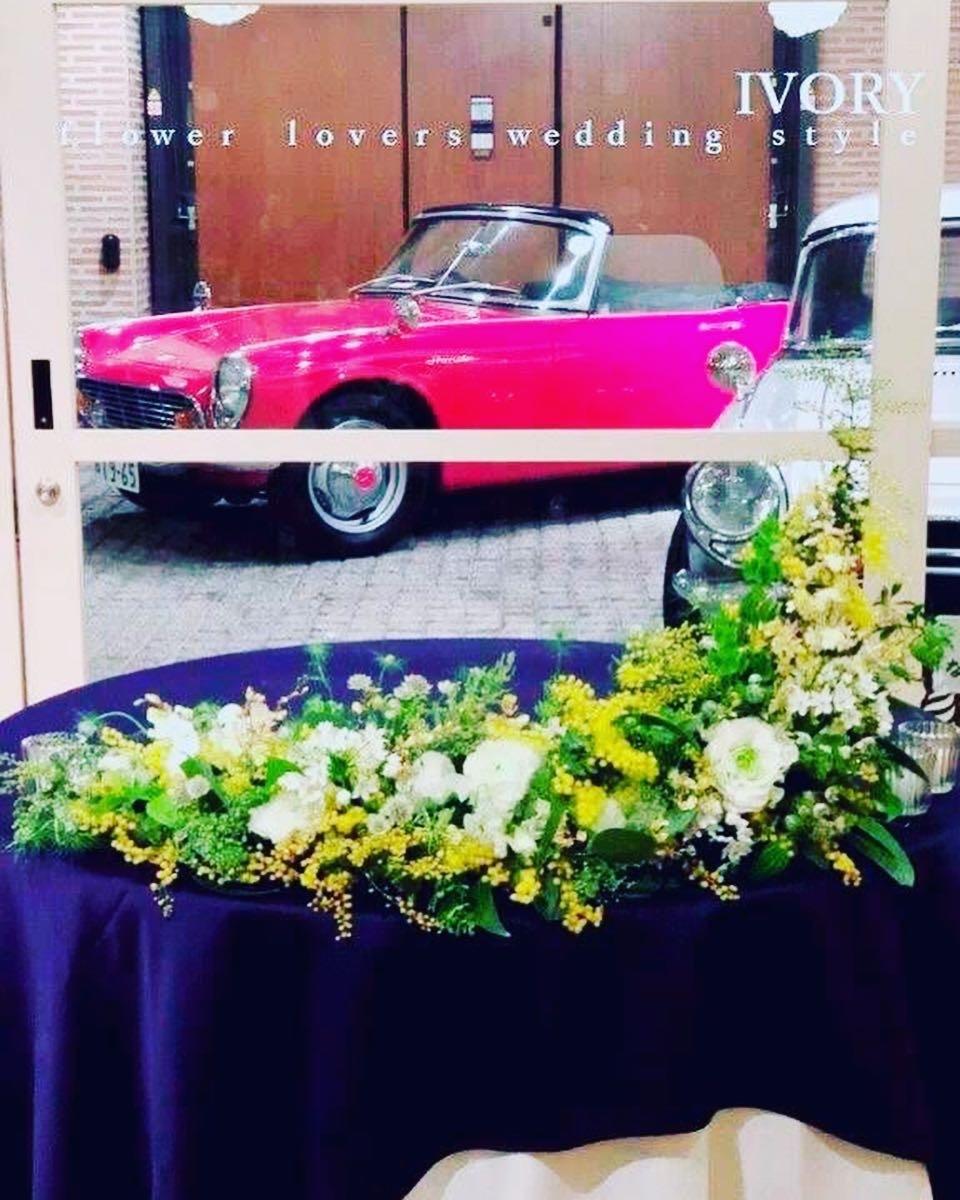 『週末の婚礼から〜♬』_b0094378_22135572.jpeg