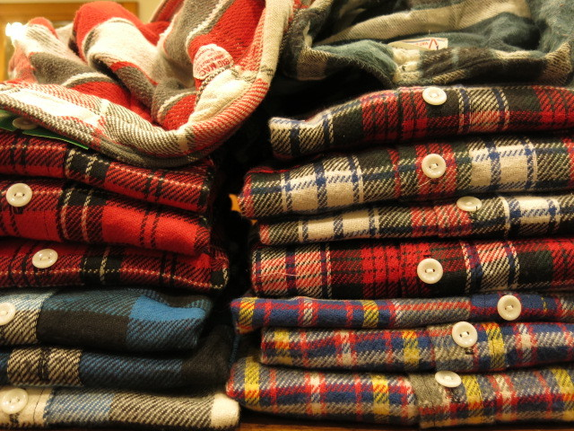 """DEADSTOCK FLANNEL SHIRT MADE IN USA\""ってこんなこと。_c0140560_12164878.jpg"