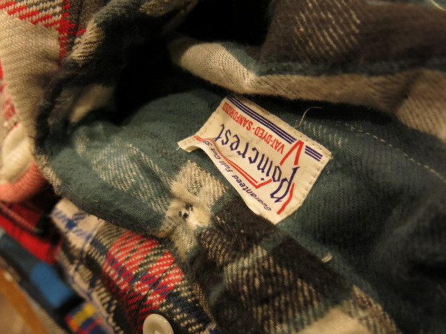 """DEADSTOCK FLANNEL SHIRT MADE IN USA\""ってこんなこと。_c0140560_12165832.jpg"