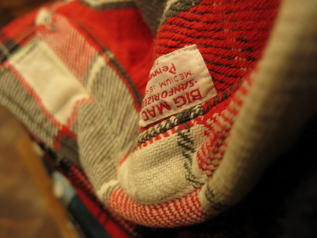 """DEADSTOCK FLANNEL SHIRT MADE IN USA\""ってこんなこと。_c0140560_12170591.jpg"