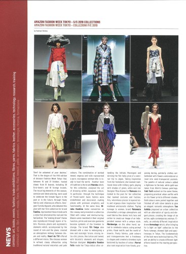 Zoom on fashion trends s/s 2020 - AW2020.21 に掲載されました。_a0138976_14333541.jpg