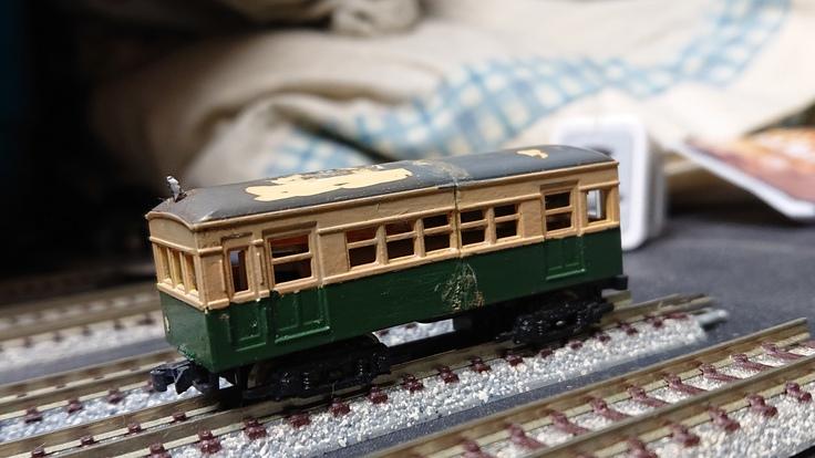 【模型】ジャンク箱から出てきた10m級小型電車。_b0062178_1749888.jpg