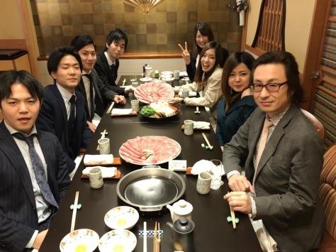 株式会社Fサポート達成会 in 「今半」!!!_b0191255_19111815.jpg