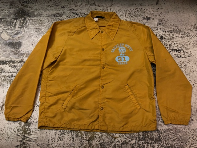 2月9日(土)大阪店ラボ入荷!!#2 Athletic Sports編!!70\'s Champion RunningMan Nylon Coach JKT!!(大阪アメ村店)_c0078587_1501128.jpg