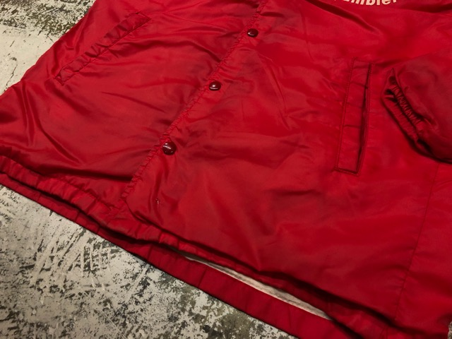 2月9日(土)大阪店ラボ入荷!!#2 Athletic Sports編!!70\'s Champion RunningMan Nylon Coach JKT!!(大阪アメ村店)_c0078587_15545912.jpg