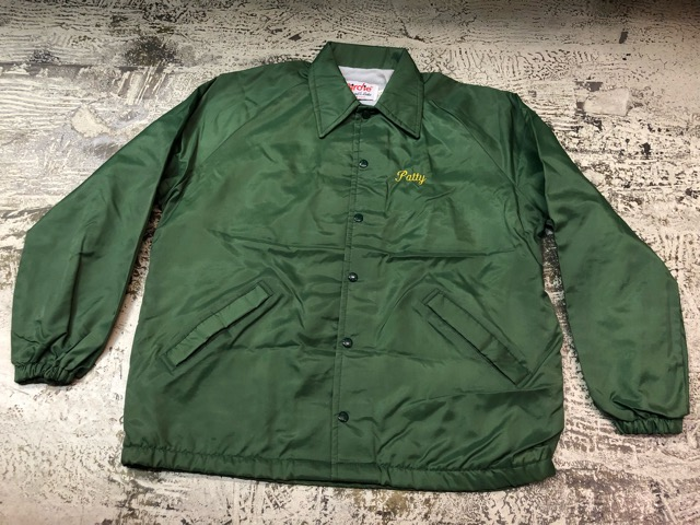 2月9日(土)大阪店ラボ入荷!!#2 Athletic Sports編!!70\'s Champion RunningMan Nylon Coach JKT!!(大阪アメ村店)_c0078587_20375137.jpg