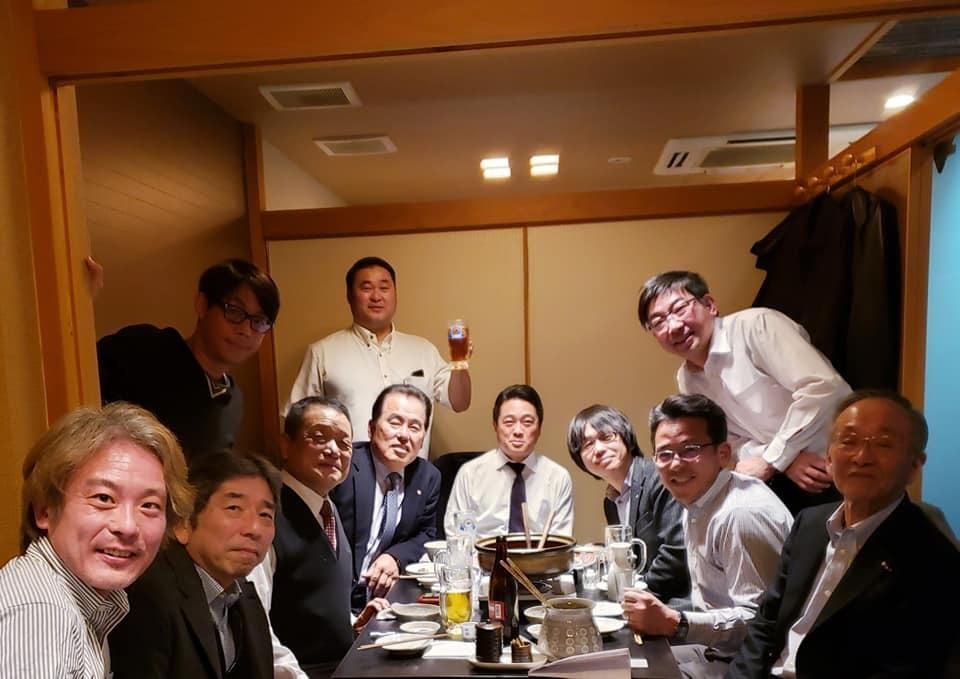 吉倉社長から、村上祭りの「竹山選手還暦祝い、引退セレモニー」の写真を送って頂きました。_c0186691_10100368.jpg