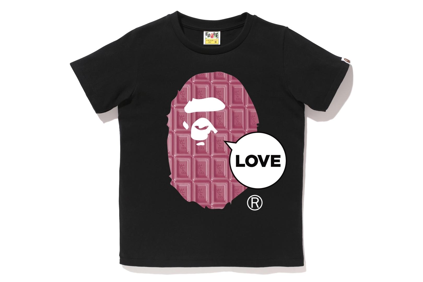 VALENTINE CHOCOLATE LOVE APE HEAD TEE_a0174495_11580964.jpg