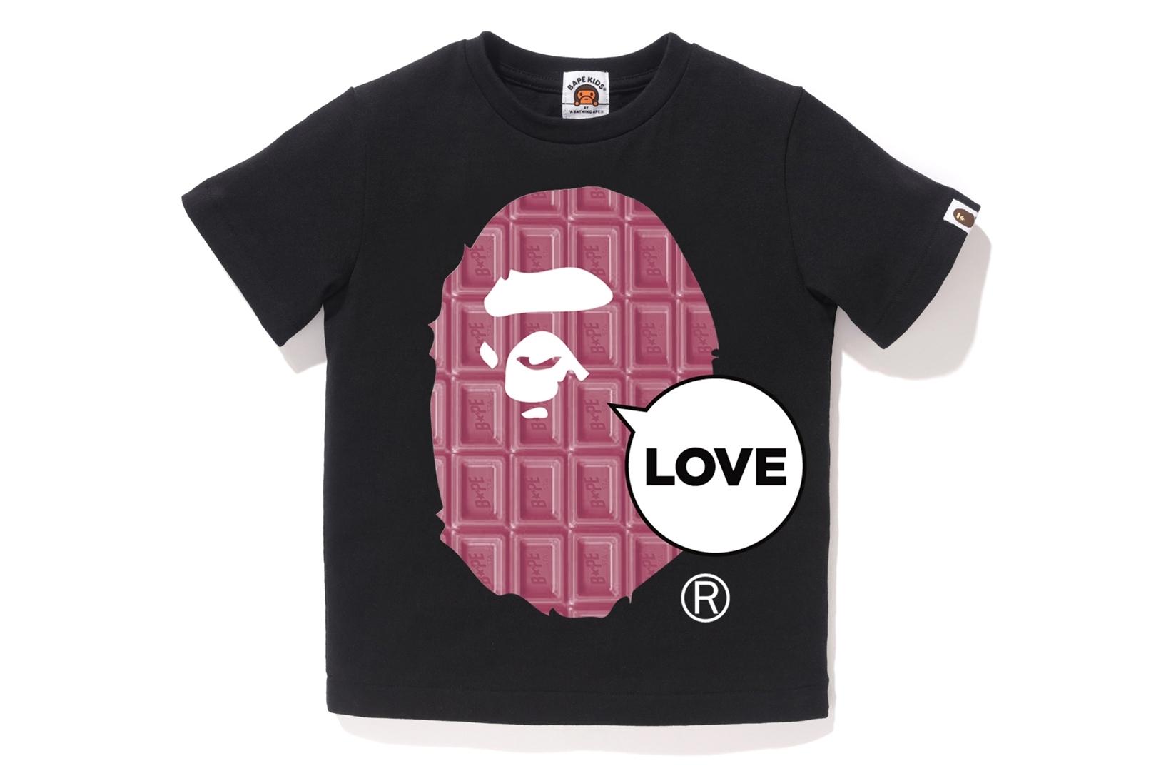 VALENTINE CHOCOLATE LOVE APE HEAD TEE_a0174495_12000105.jpg
