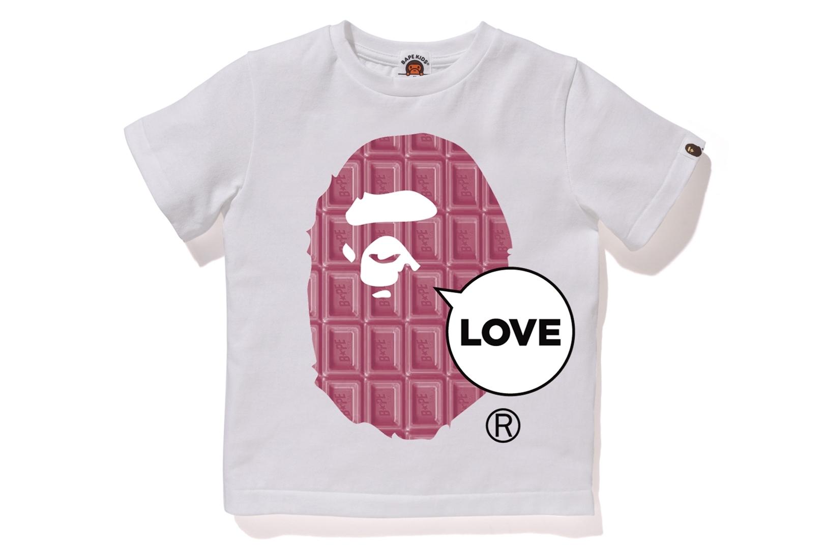 VALENTINE CHOCOLATE LOVE APE HEAD TEE_a0174495_12000811.jpg