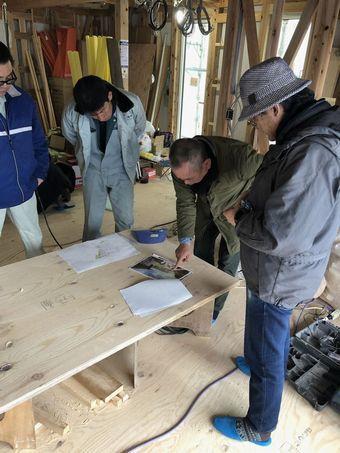 モデルハウス工事、進行中。_a0059217_11182427.jpg