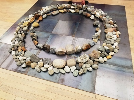 作業日誌(「第17回NAU21世紀美術連立展」石彫オブジェ作品運搬展示作業)_c0251346_15390020.jpg