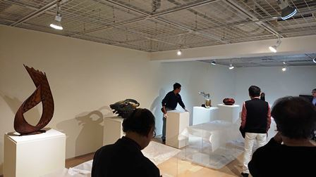 作業日誌(LIXILギャラリー「工藝とは…Kogei is…」展作品搬入展示作業)_c0251346_15415475.jpg