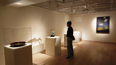 作業日誌(LIXILギャラリー「工藝とは…Kogei is…」展作品搬入展示作業)_c0251346_15420263.jpg