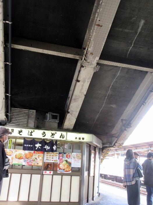 【湘南ライナー1号】スーツ青年が下りたココが藤沢駅ライナーホームです_b0009849_14473733.jpg