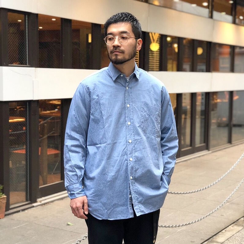 19SS 別注INDIVIDUALIZED SHIRTS_b0121563_09152957.jpeg