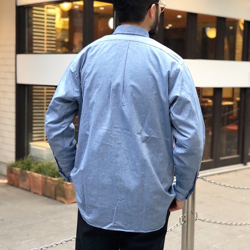 19SS 別注INDIVIDUALIZED SHIRTS_b0121563_09155232.jpeg