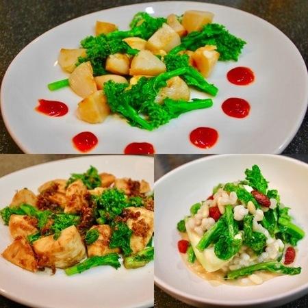 和洋中韓、菜の花づくしのレシピ_a0223786_10571137.jpg