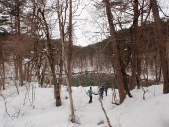 雪の五色沼探勝路で「スペシャル」探し_a0096989_21184587.jpg