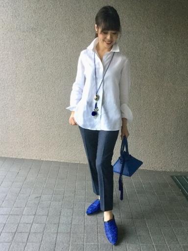 「麻シャツの白」をどう着る…①_b0210699_17491277.jpeg