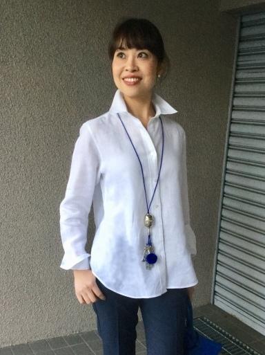 「麻シャツの白」をどう着る…①_b0210699_17503803.jpeg