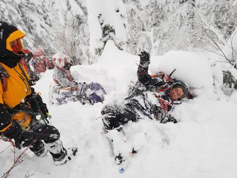 冬合宿「笠ヶ岳西尾根」  ~おつかれ!~_d0237801_01042649.jpg