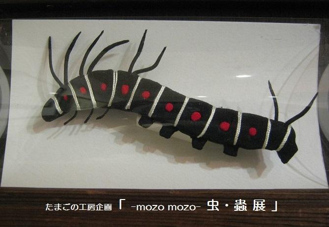 たまごの工房企画 「 -mozo mozo- 虫・蟲  展 」 その3_e0134502_11254222.jpg