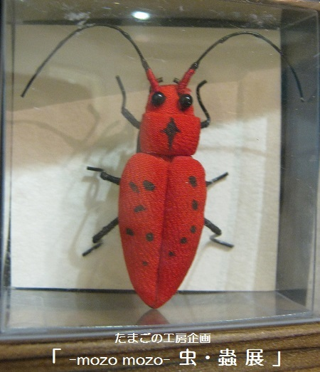 たまごの工房企画 「 -mozo mozo- 虫・蟲  展 」 その3_e0134502_11265167.jpg