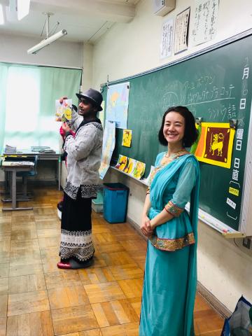 小学校にて授業_a0153945_18484155.jpg