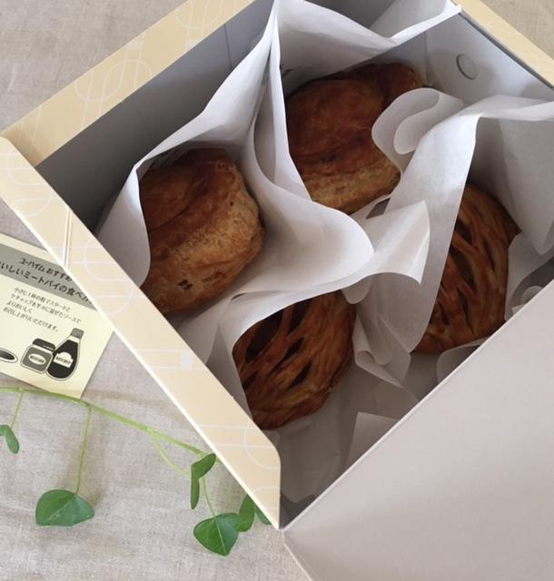 brunch   ユーハイムのパイ&メゾンカイザーのパンで♪_a0165160_19105395.jpg