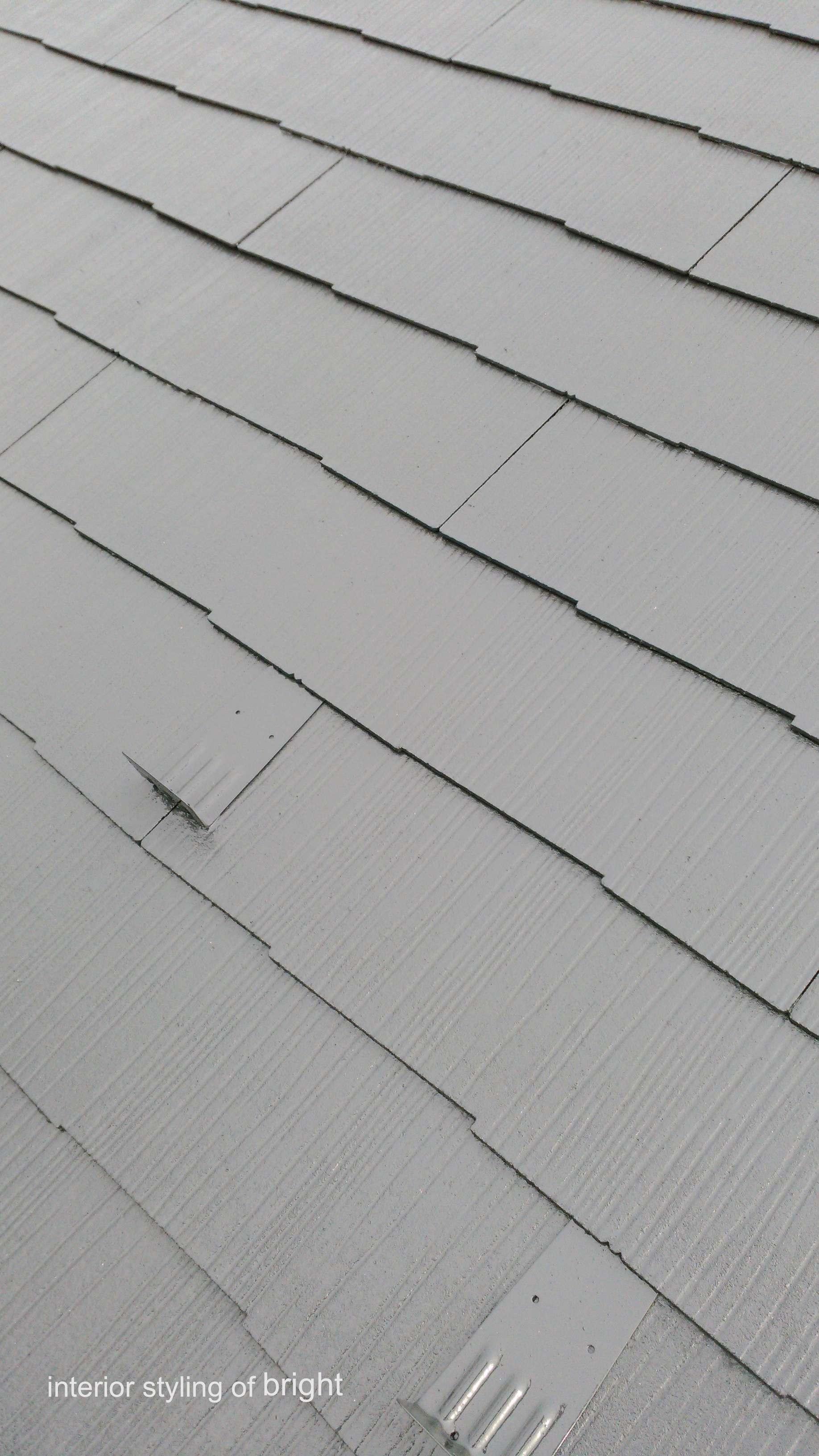屋根外壁塗装 高圧洗浄と屋根塗装 オーダーカーテン・輸入壁紙のブライト_c0157866_14565913.jpg