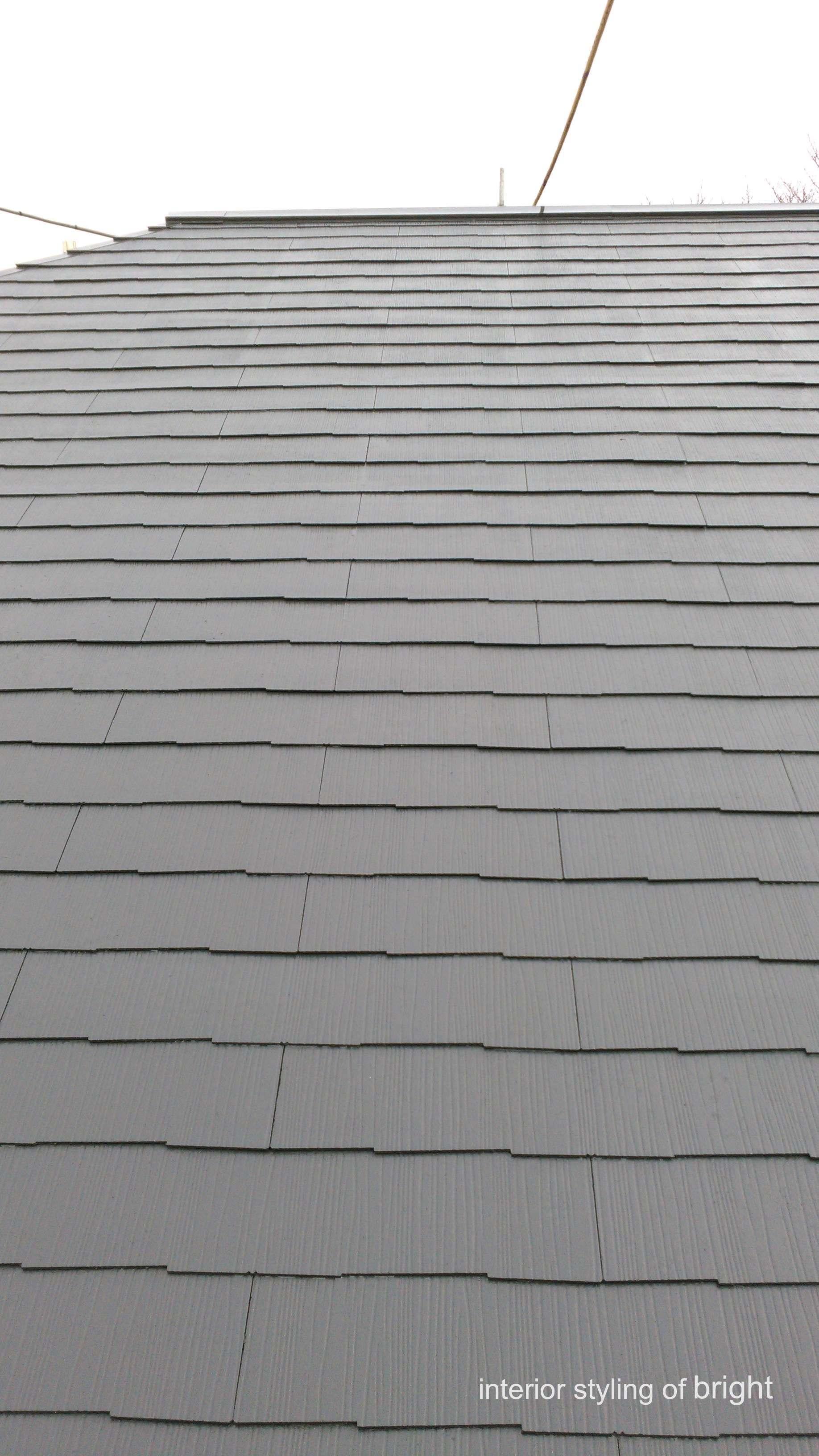 屋根外壁塗装 高圧洗浄と屋根塗装 オーダーカーテン・輸入壁紙のブライト_c0157866_14571586.jpg