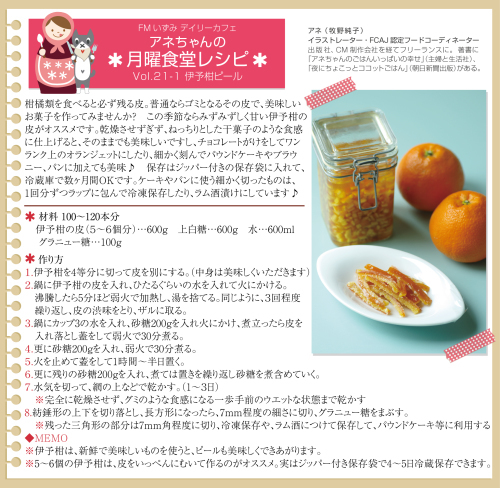 Daily Cafe(月)トピックライブラリー「アネちゃんの月曜食堂」_d0029276_11084413.jpg