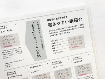 デザインのひきだし36付録「筆記適性にこだわった紙ノート」がすごいのだ!_c0207090_16163297.jpeg