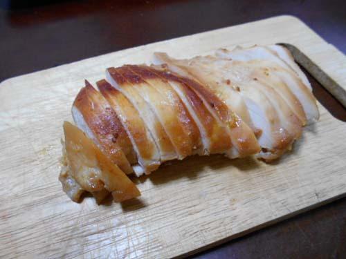 鶏むね肉チャーシュー&山形青菜漬(せいさい)のおにぎり_f0019498_19111897.jpg